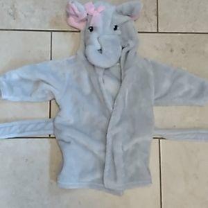 Elephant baby bath robe